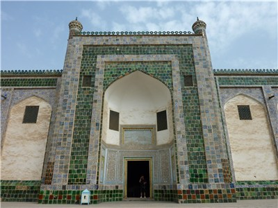 香妃墓の入り口