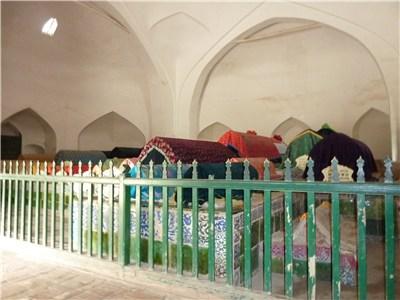 香妃墓の内部