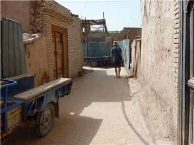カシュガルの古城で道に迷う