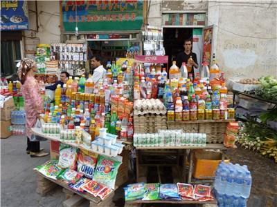 街中の商店