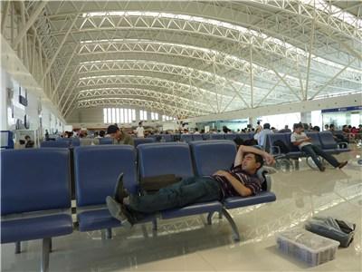 カシュガル空港内