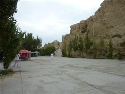交河故城入り口