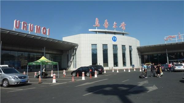 ウルムチの空港
