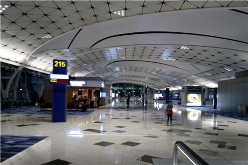 空港内の様子